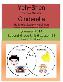 Journeys 2014 Second Grade Unit 6 Lesson 28: Yeh-Shen
