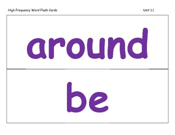 Journeys 2014 Second Grade Vocabulary Cards For Lessons 1-30