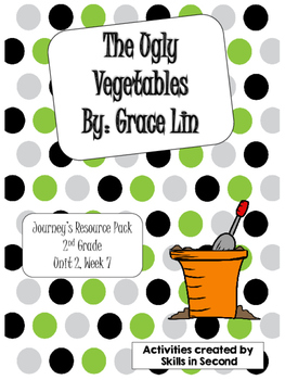 Journey's {2014} The Ugly Vegetables Literacy Centers