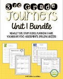 Journeys Third Grade Unit 1 BUNDLE of Resources