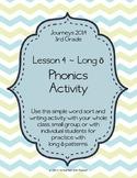 Journeys Third Grade, Unit 1 Lesson 4 Phonics Activity