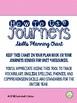Journeys Third Grade Unit 3 Skills Planning Chart
