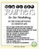 Journeys Third Grade Unit 1 Tic-Tac-Vocabulary