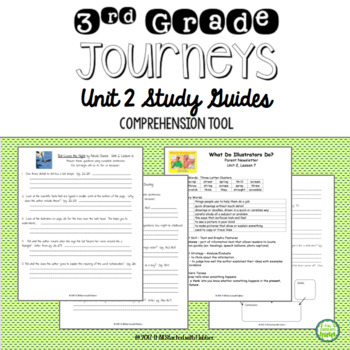 Journeys Third Grade Unit 2 Study Guide Comprehension Questions