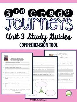 Journeys Third Grade Unit 3 Study Guide Comprehension Questions