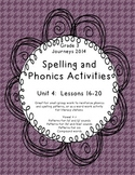 Journeys Third Grade, Unit 4 Phonics and Spelling Patterns