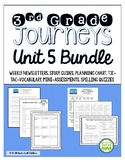 Journeys Third Grade Unit 5 BUNDLE of Resources