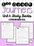 Journeys Third Grade, Unit 6, Study Guide Comprehension Questions