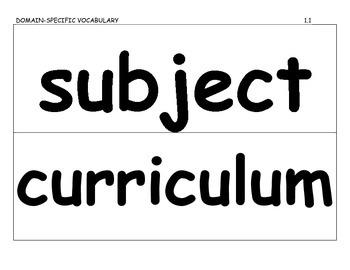 Journeys 2014 Third Grade Vocabulary Cards for Lesson 1-30