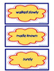 Journeys Unit 1 Vocabulary Card Bundle for Lessons 1-5, 3rd Grade