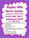 Journeys 2014 Version Fourth Grade Unit 2 Supplemental Bundle