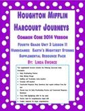 Journeys 2014 Version Fourth Grade Unit 3 Lesson 11 - Hurricanes