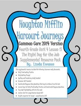Journeys 2014 Version Fourth Grade Unit 4 Lesson 17 - The