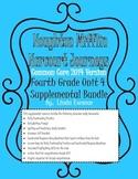 Journeys 2014 Version Fourth Grade Unit 4 Supplemental Bundle