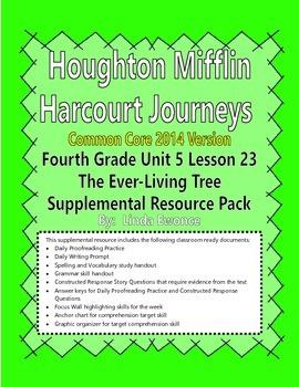Journeys 2014 Version Fourth Grade Unit 5 Lesson 23 - The