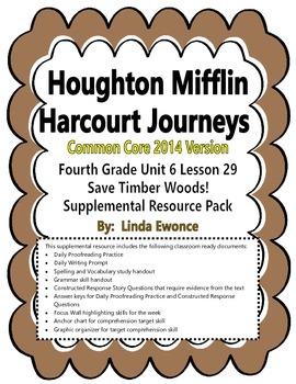 Journeys 2014 Version Fourth Grade Unit 6 Lesson 29 - Save