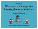 Journeys 2014/2017 Welcome to Kindergarten Two Week Unit