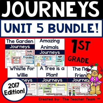 Journeys 2017 1st Grade Unit 5 Supplemental Materials