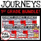 Journeys 1st Grade Units 1-6  2017 or 2014 version supplemental printables