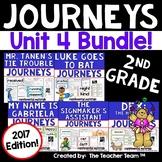 Journeys 2nd Grade Unit 4 Reading Comprehension Bundle 2017