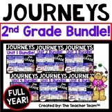 Journeys 2nd Grade Year Bundle 2017 or 2014