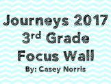 Journeys 2017 3rd Grade Focus Wall