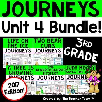 Journeys 2017 3rd Grade Unit 4 Supplemental Materials