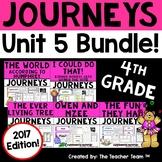 Journeys 4th Grade Unit 5 Printables Bundle | 2017