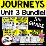 Journeys 5th Grade Unit 3 Printables Bundle | 2017 or 2014