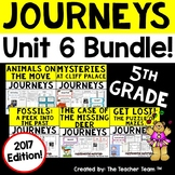 Journeys 5th Grade Unit 6 Supplemental Activities & Printables 2017