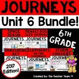 Journeys 6th Grade Unit 6 Supplemental Activities & Printables 2017