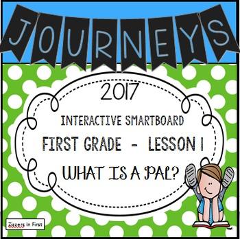 Journeys 2017 Lesson 1 First Grade Interactive Smartboard Slides