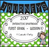 Journeys 2017 Lesson 10 First Grade Interactive Smartboard Slides