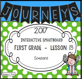 Journeys 2017 Lesson 13 First Grade Interactive Smartboard Slides