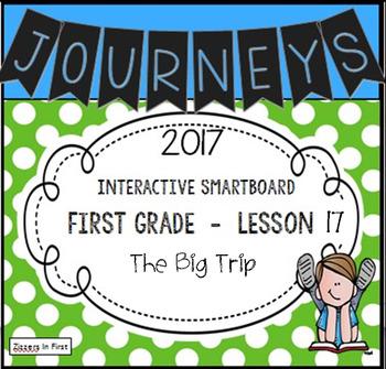Journeys 2017 Lesson 17 First Grade Interactive Smartboard Slides
