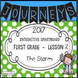 Journeys 2017 Lesson 2 First Grade Interactive Smartboard Slides