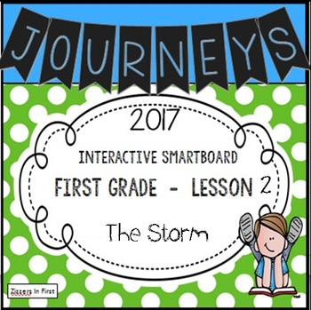 Journeys 2017 Lesson 2 First Grade Interactive Smartboard Slides