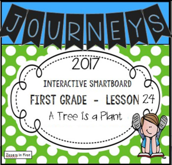 Journeys 2017 Lesson 24 First Grade Interactive Smartboard Slides