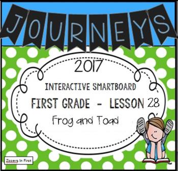 Journeys 2017 Lesson 28 First Grade Interactive Smartboard Slides