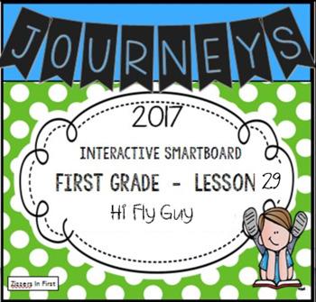 Journeys 2017 Lesson 29 First Grade Interactive Smartboard Slides