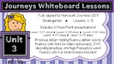 Kindergarten Journeys 2017 Unit 3 Lessons