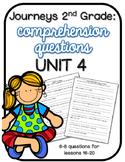 Journeys 2nd Grade Comprehension Questions UNIT 4