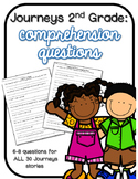 Journeys 2nd Grade Comprehension Questions for the YEAR