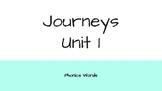 Journeys 2nd Grade Daily Phonics Words Unit 1