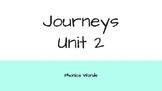 Journeys 2nd Grade Daily Phonics Words Unit 2