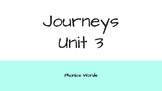 Journeys 2nd Grade Daily Phonics Words Unit 3