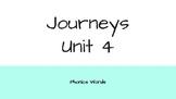 Journeys 2nd Grade Daily Phonics Words Unit 4