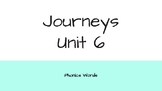 Journeys 2nd Grade Daily Phonics Words Unit 6