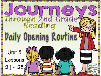 Journeys 2nd Grade Daily Routine, Unit 5