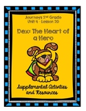 Journeys 2nd Grade Dex: The Heart of a Hero